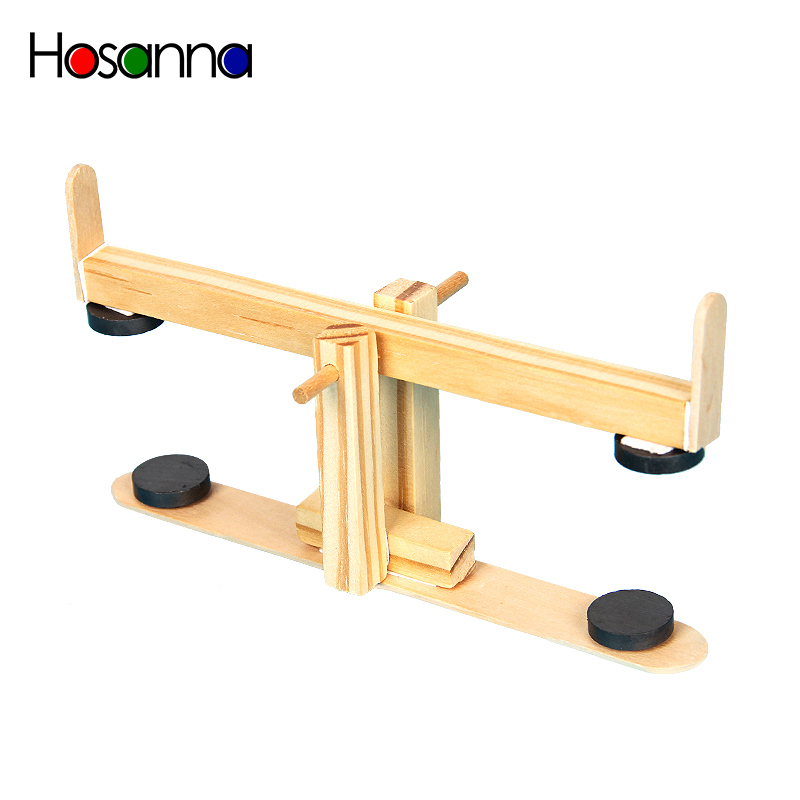 Hosanna Kids Wooden Magnetic Seesaw Model Assembled Science Toys Kit Learning Physics Educational Toys For Children