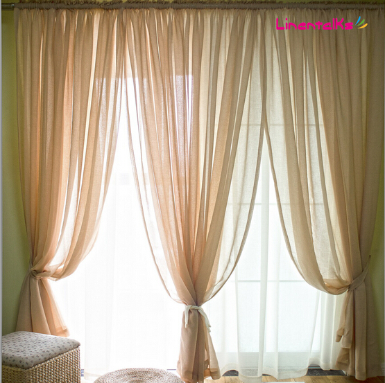 Tulle curtains sheer curtain for living room voile for Tende in voile