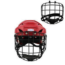 ice Hockey helmet mask cage & face shield   senior  size  black medium