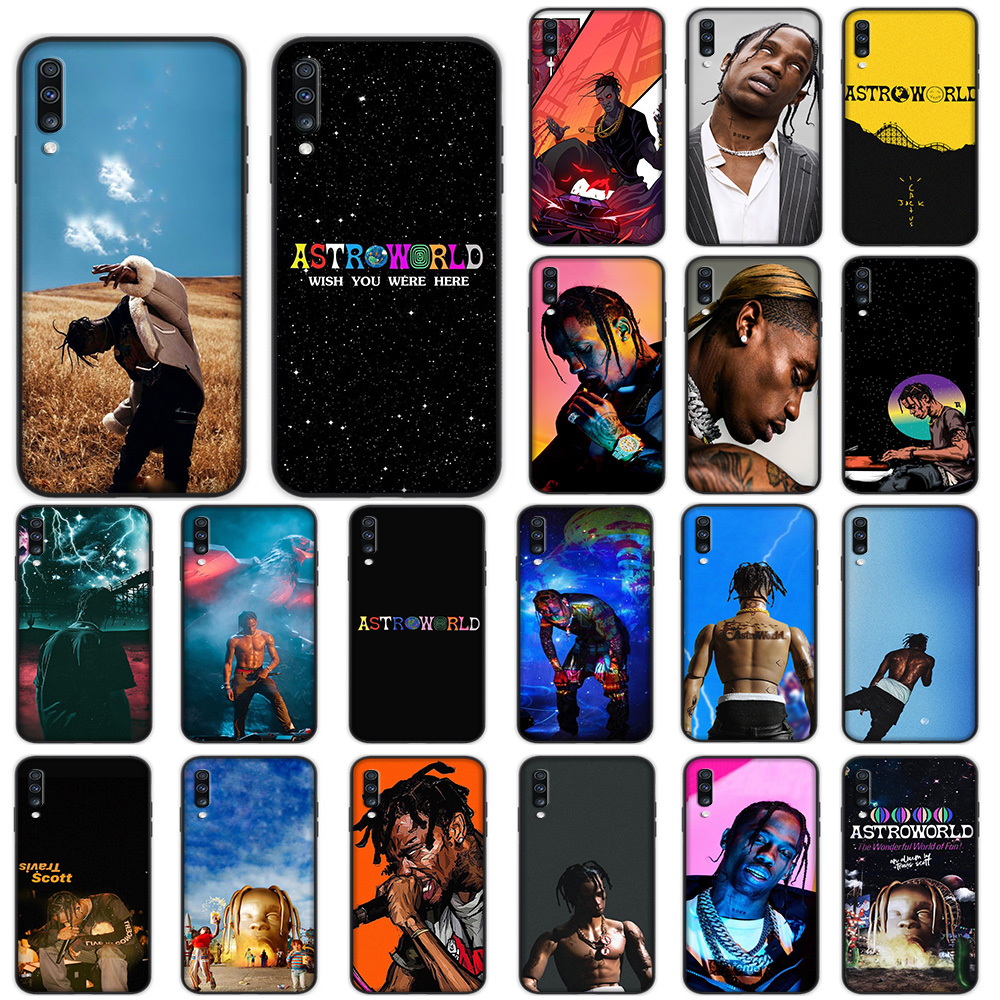 Travis Scott Astroworld Soft <font><b>Case</b></font> for <font><b>Samsung</b></font> Galaxy A5 A6 A7 A8 A9 Plus A10 A20 A30 <font><b>A40</b></font> A50 A60 A70 M40 Cover image