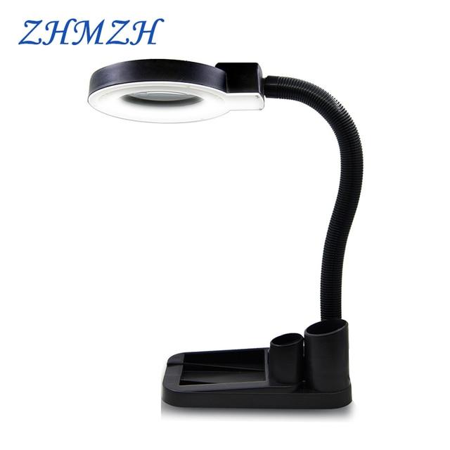 US $27.99 |40 LEDs Beads Desk Lamp Of the lighting Magnifying Gl 110V on
