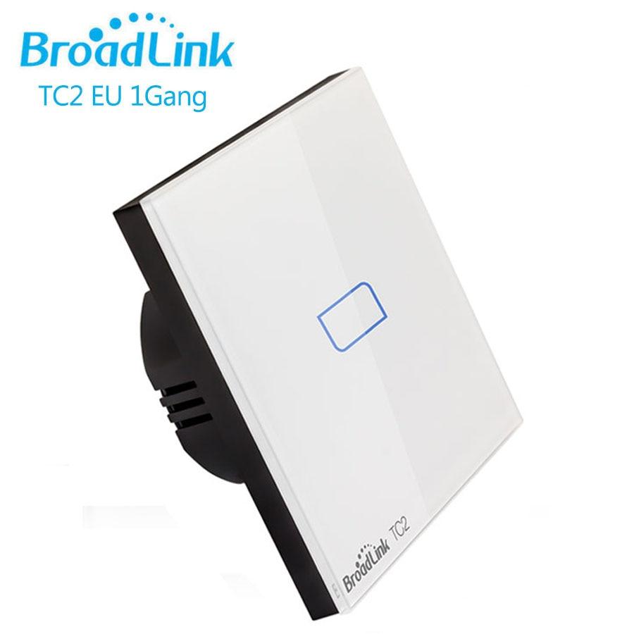 Broadlink TC2 RF Nástěnný spínač světla EU Standard 1Gang - Inteligentní elektronika