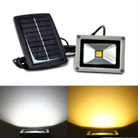 Hot Sell Practical 10W LED Solar Power Project Light Lamp Waterproof Night Light Free Shipping