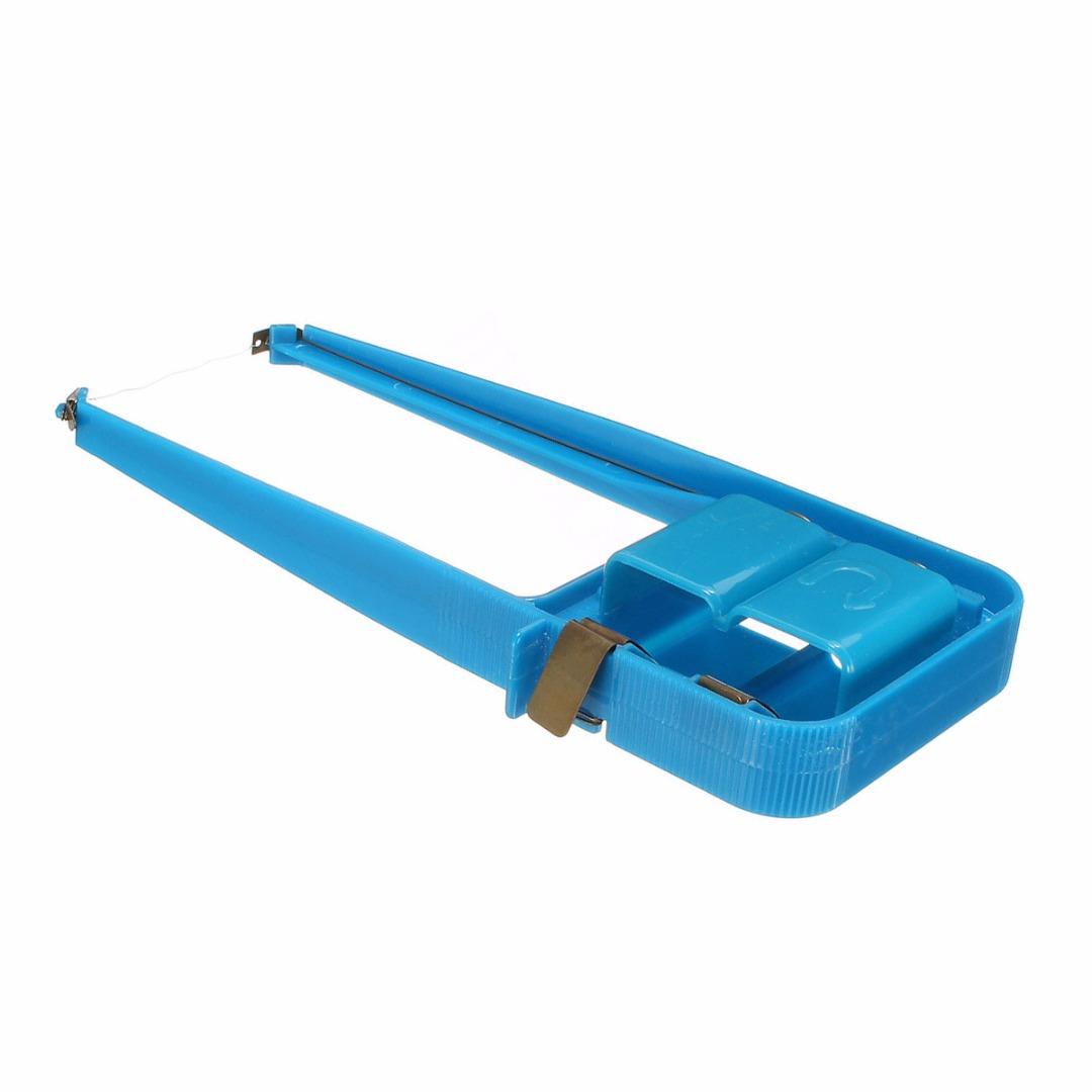 Plastic Blue Hot Wire Foam Cutter Mayitr Durable Small Electric Wire Styrofoam Polystyrene Craft DIY Power Tools 190*90mm torch brand hot knifing foam to cut styrofoam cutter power supply