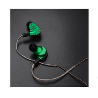 KZ ZS6 2DD 2BA Hybrid In Ear Earphone Cable HIFI DJ Monito Running Sport Earphone Earplug