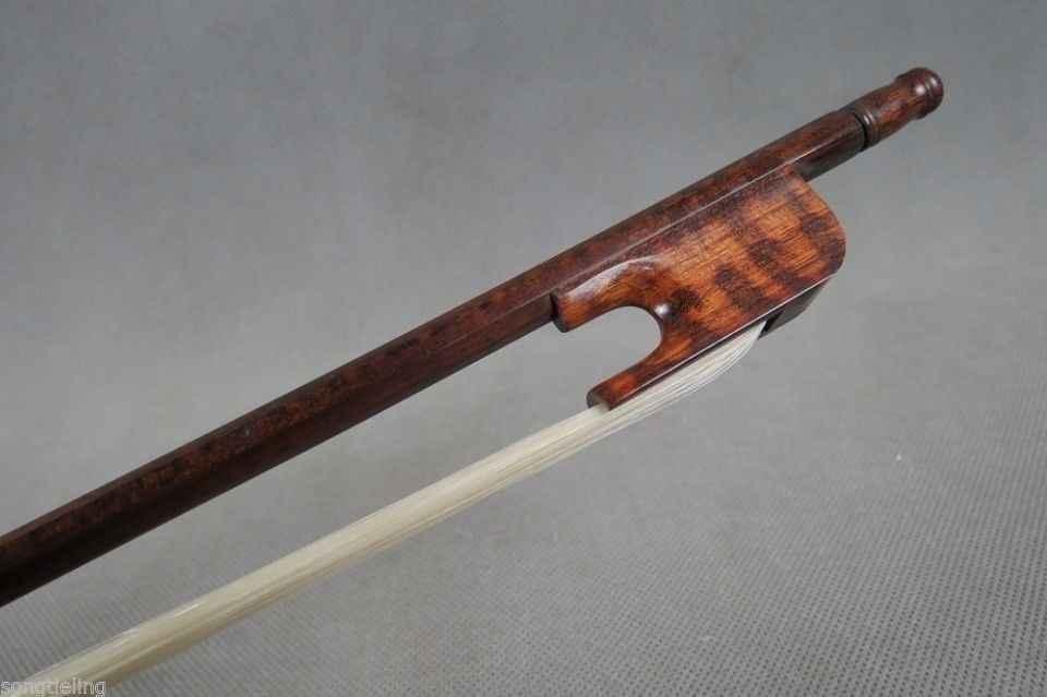 """Профессиональный скрипичный смычок из змеиного дерева в стиле барокко 28 """"(712 мм)"""