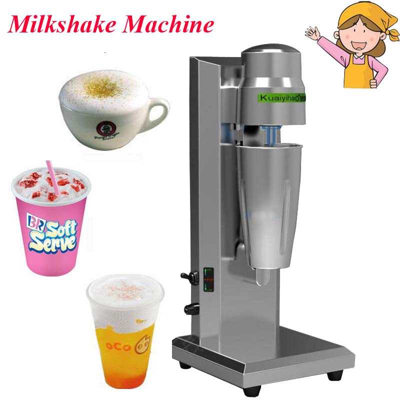 Stand Commercial Household Milkshake Machine Cyclone Soft Ice Cream Mixer Speed Milkshake Machine-A1 edtid new high quality small commercial ice machine household ice machine tea milk shop