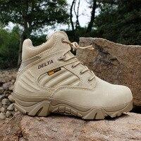 Мужская зимняя обувь в военном стиле; Тактический пустынный Военный стиль; ботильоны; Рабочая обувь в армейском стиле; большие размеры 39-47; к...