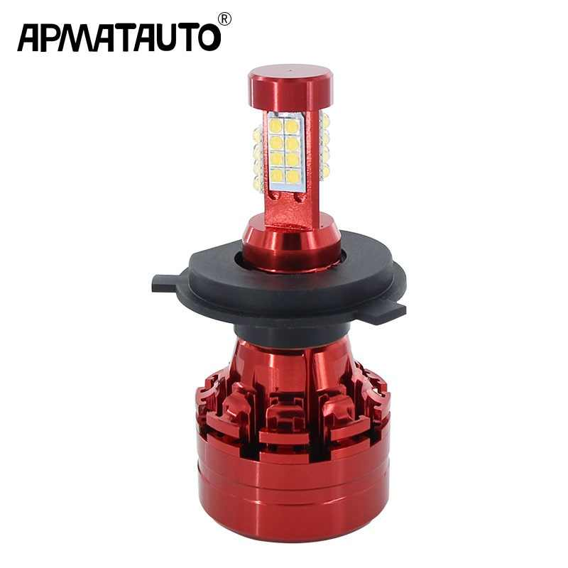 1 piece H4 HS1 9003 HB2 H7 Auto Car Motorcycle Led Headlight 9000LM Light For Toyota Honda Nissan BMW Mazd Yamaha Suzuki 12V-24V