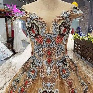Image 3 - Aijingyu 웨딩 드레스 스페인 가운 플러스 bridle 고딕 통관 신부 및 가격 가운 웨딩 긴 소매 진짜 사진