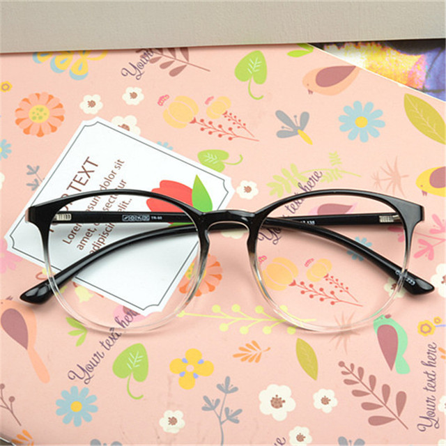 9eb4a2b7d70 Vazrobe Tr90 Round Glasses Frame Men Women fashion Eyeglasses for Myopia Prescription  Spectacles Women s Nerd points female