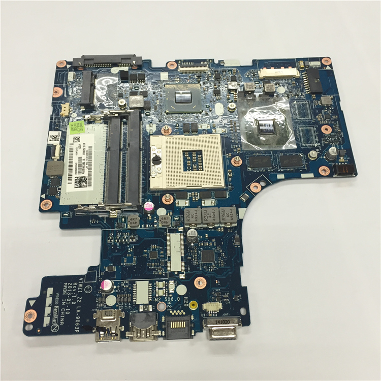 Free Shipping NEW Z500 VIWZ1 LA-9063P Rev 1.0 Motherboard For Lenovo Z500 board with Nvidia N14P-GV2-B-A1 video card smeg sc45vne2
