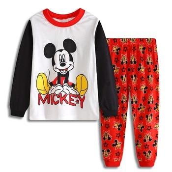 d837bf6574f93d Baby jungen frühling herbst kleidung setzt neue baumwolle kinderkleidung  jungen langarm niedlichen maus pyjamas sets