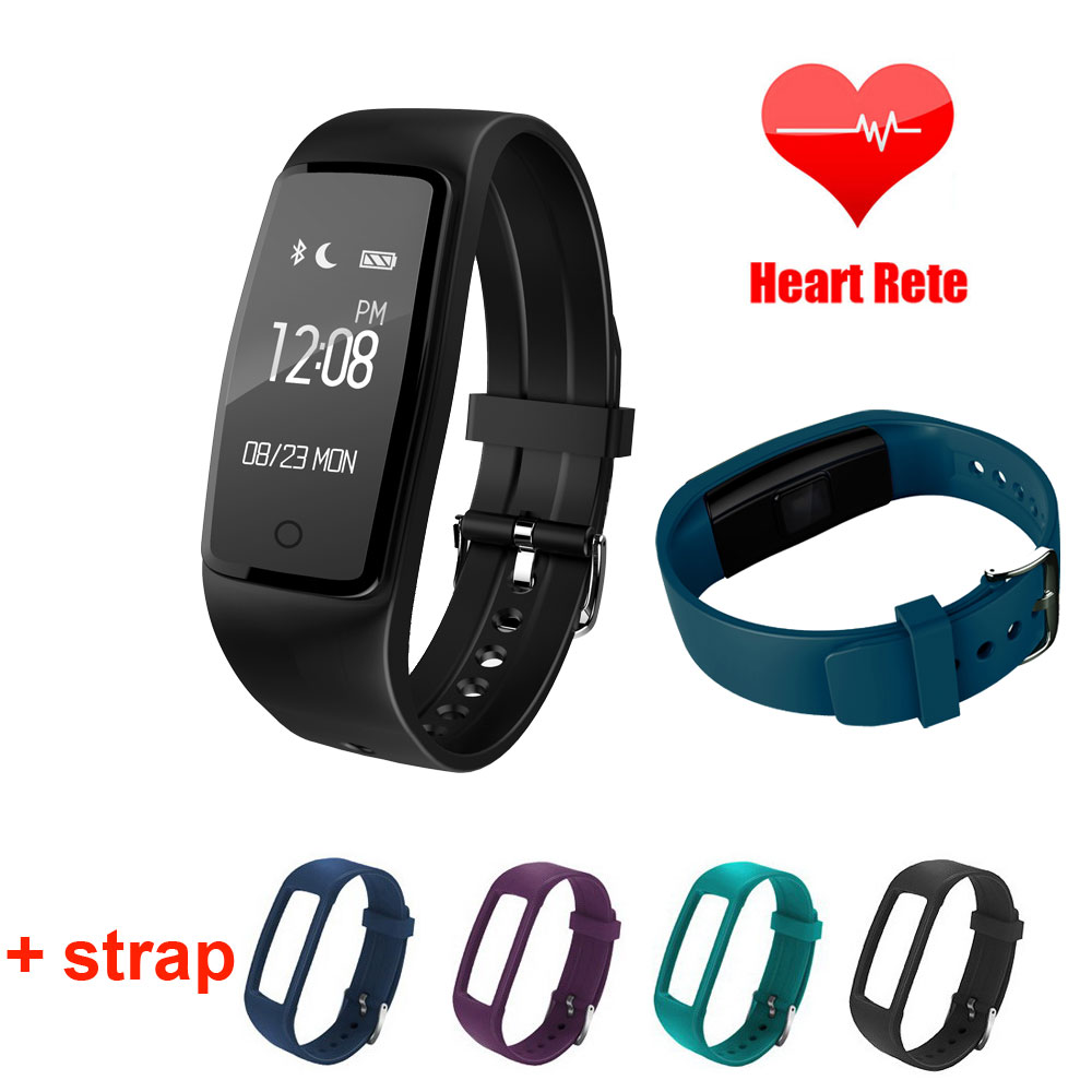 S1 Smart Bracelet IP67 Waterproof Heart Rate Monitor Smart Band Fitness Tracker For Android IOS SmartBand