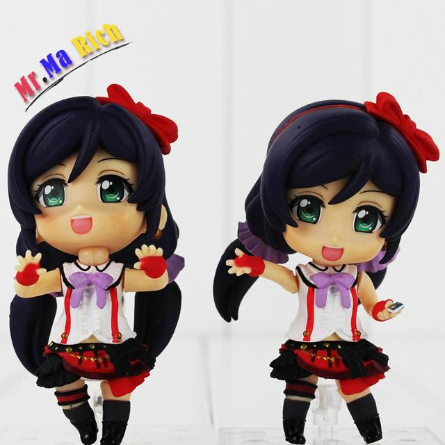 New Color Box 2pcs/lot Japan Anime Love Live! School Idol Project Pvc Action Figure Toys Nozomi Tojo Q Version