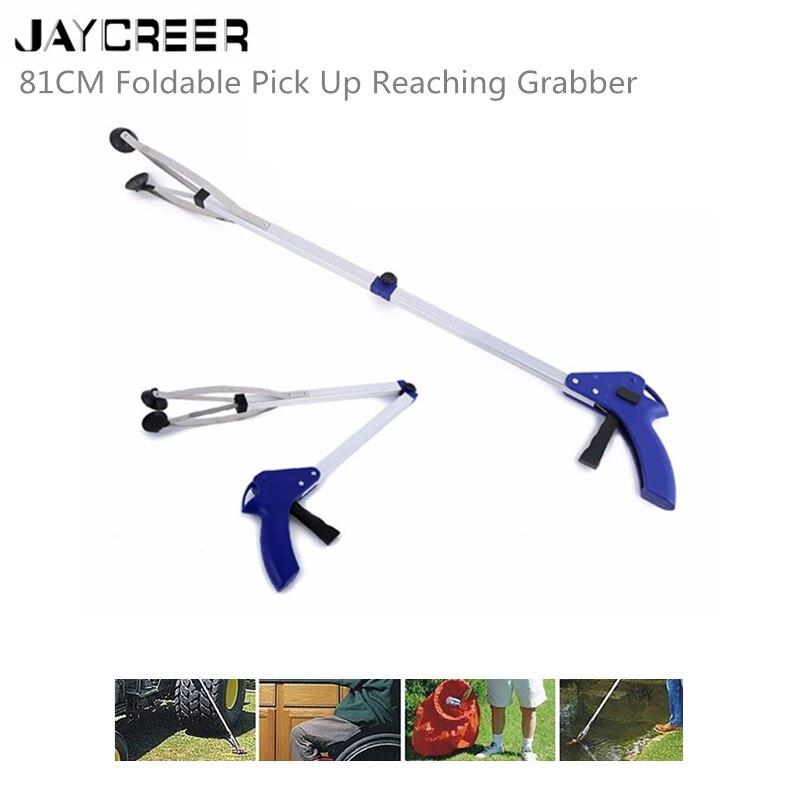 Handicap Arm Temperamentvoll Jaycreer Faltbare Grabber Reacher 81 Cm Heavy Duty Mobility Grip Hand Hilfe Erreichen Stick Trash Stick