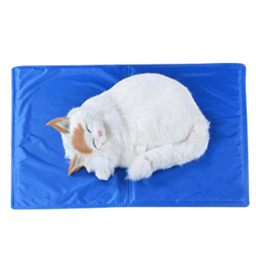 Pet Cool Gel Mat Dog Cat Bed Non-Toxic Cooling Dog Summer Pad