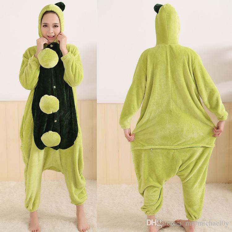 Funny Animal Costume Pajamas Onesies Pea Style For Adult Men And Women One  Piece Onesie Pajamas Sleepwear Jumpsuit-in Men s Costumes from Novelty    Special ... 61c836c0b