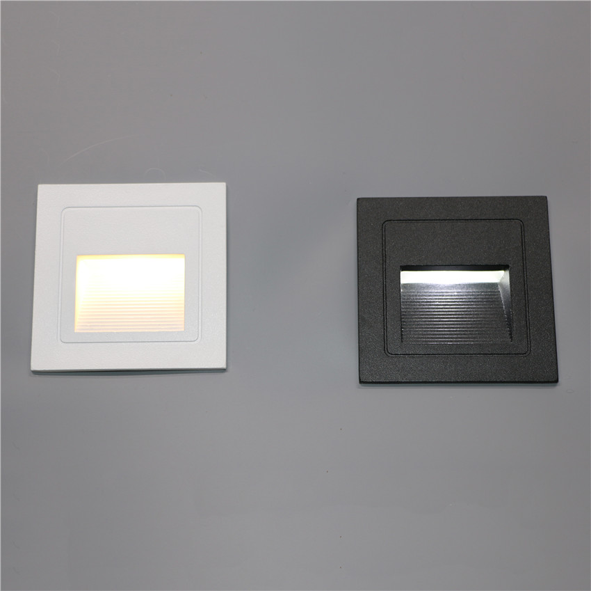 10PCS LED Footlights 3W Wall Light Waterproof Outdoor IP65 Aluminum Indoor Wall Lamp For Stairs Step