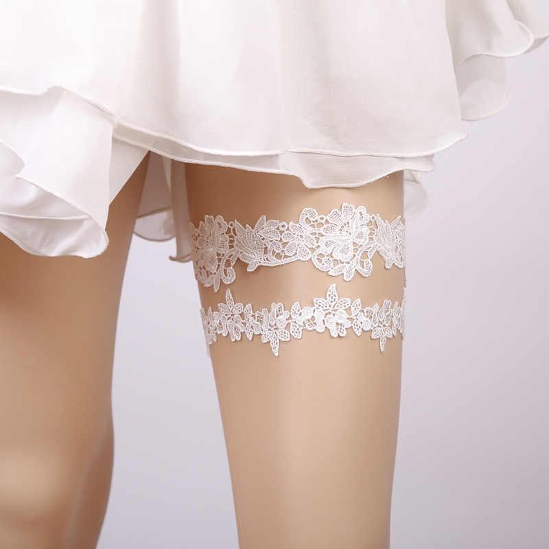 2448c7dec8c Detail Feedback Questions about White Blue Wedding Garter Set ...