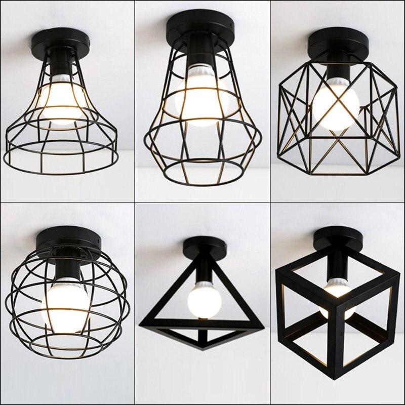 Vintage Deckenleuchten Lamparas De Techo lustre Luminaria Abajur Deckenleuchte Hause Beleuchtung Avize Leuchte Wohnzimmer Lichter