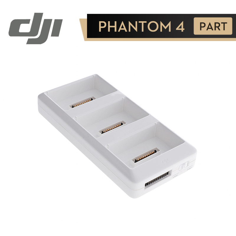 DJI Phantom 4 Series 4 Pro Battery Charging Hub 3in1 17.5V Intelligent Flight Battery Steward Board Accessories Charger Adapter dji spark battery charger hub ac power adapter intelligent flight battery charger original
