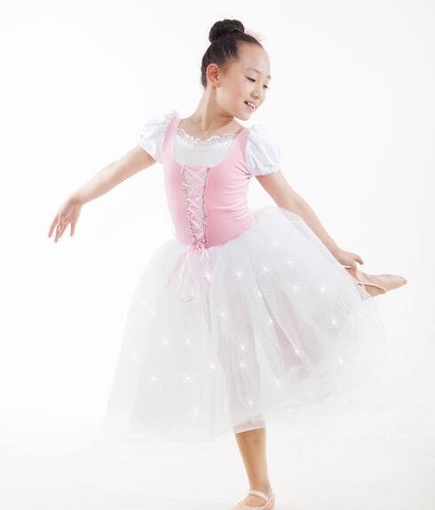 white pink adult kids children Ballet Dance Tutu Ballerina ...