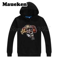 Men Hoodies Strong Atlanta Fierce Falcon Sweatshirts Hooded Thick for Falcons fans gift Comic Cartoon Winter W17112923