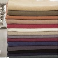Wide1 45m 100 Linen Fabric Clothes Handmade Women Dress Shirt Pants 84
