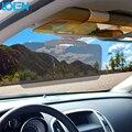 Антибликовое HD Автомобилей Солнцезащитный Козырек Очки Для Driver День И ночь затемняемые Зеркала Блок УФ Солнцезащитные Козырьки Clear View Ослепительно очки