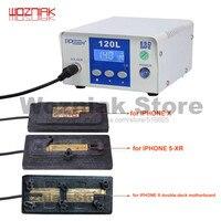 Comparar Estación de Reparación para desoldar Wozniak PPD 120L, placa de soldadura sin soldar, placa base para iPhone, Chip CPU A8 A9 A10 A11