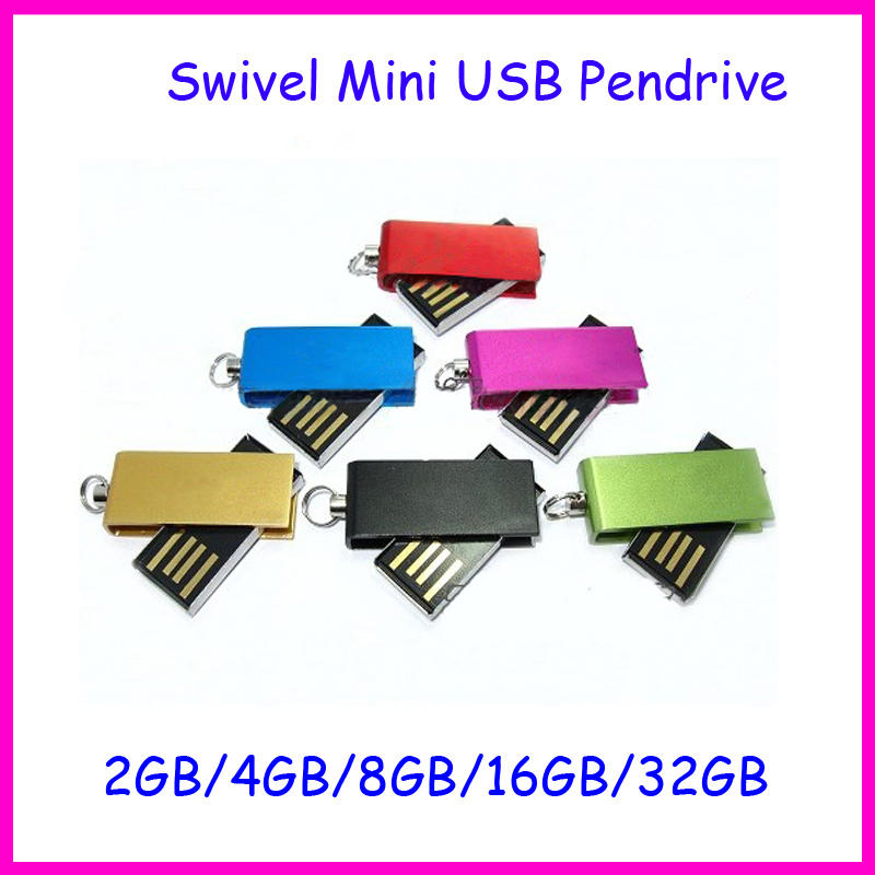 ! Waterproof Metal USB Flash Drive 4GB 8GB 16GB 32GB UDP Chip Memory Swivel Mini Pendrive U Disk - Ashintar Store store