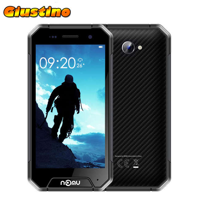 NOMU S30 MINI IP68 Dust Shockproof 3GB RAM 32GB ROM MTK6737T 1.5GHz Quad Core 4.7 Inch HD Screen Android 7.0 4G LTE Smartphone