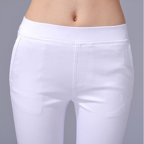 2019 Fashion Spring pants pencil pants women trousers fashion all-match casual pants female thin elastic legging clothing