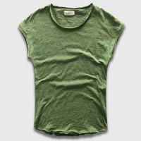 Designer Batwing Sleeve Tee Tops Men Cotton Plain T Shirts Crew Neck Basic Tee Shirts Short
