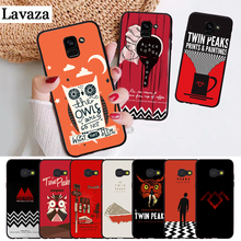 Lavaza Welcome To Twin Peaks Silicone Case for Samsung A3 A5 2016 2017 A6 Plus 2018 A7 A8 A9 A10 A30 A40 A50 A70 J6