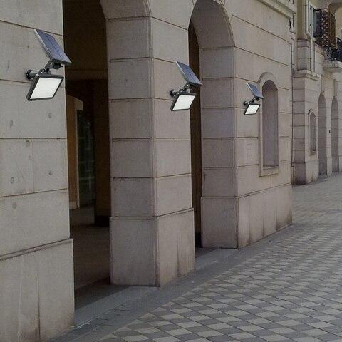 diodo emissor de luz solar a prova