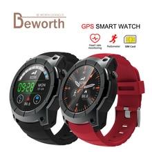 S958 GPS Montre Smart Watch Moniteur de Fréquence Cardiaque Sport Étanche SIM Carte Communication Bluetooth 4.0 Smartwatch pour Android IOS Téléphone