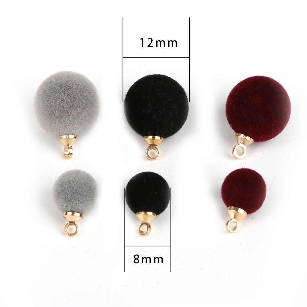 12mm 8mm tkaniny uciekają okrągłe przebite przyciski czarny/szary/bordowy koraliki Fit torby odzieży rzemiosło dekoracji 10 sztuk/partia