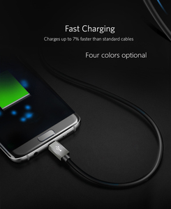 Image 4 - Micro USB Cable 5V 2A Nylon Braided High speed Fast USB Charger Cable for Samsung Xiaomi Huawei Android Phone Cable