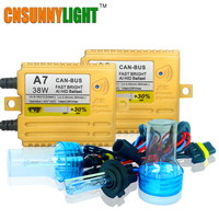38W XENON HID KIT CANBUS QUICK START BRIGHT SMART BALLAST WITH ALL COLORS 4300K 6000K 8000K