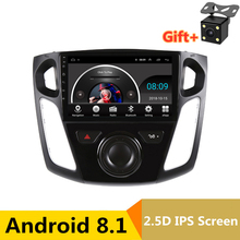 "9 ""Android 8.1 Car DVD Multimedia Player GPS Per Ford Focus 2012 2013 2014 2015 car audio radio stereo navigator wifi"