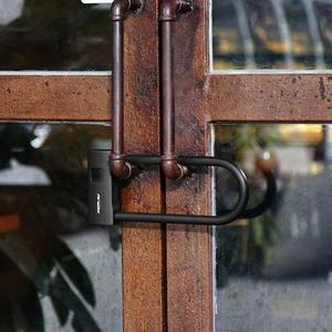 Image 5 - Youpin AreoX Intelligent Fingerprint U Lock U8 locker sliding door Car Motorcycle Bike padlock window Password Waterproof