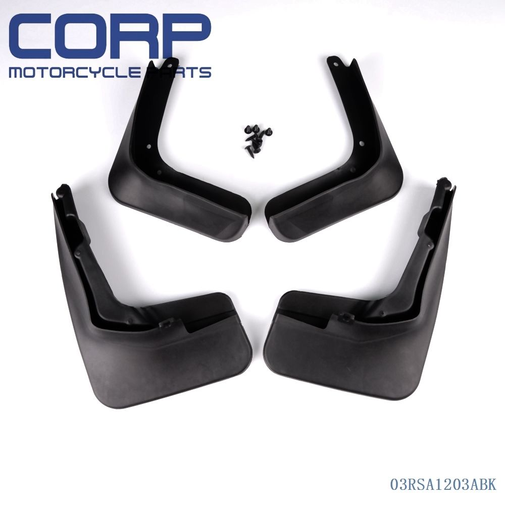 Mud flap splash guard fender mudguard for 2013 ford fusion molded 2014 mondeo china