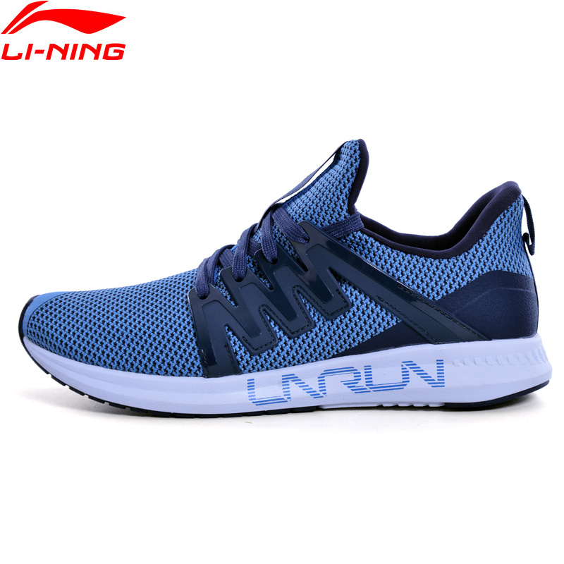 Li-Ning Men LNRACER Light Running Shoes Breathable Wearable LiNing Li Ning Comfort Sport Shoes Fitness Sneakers ARBN027 XYP852
