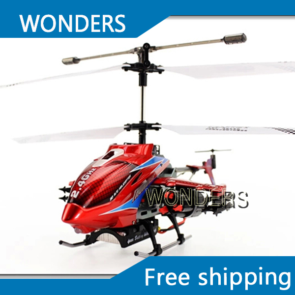 Remote control  DFD F187 3.5CH 2.4G  50cm RC Avator Helicopter with launch missile/classic electronic  toys without original box novation launch control
