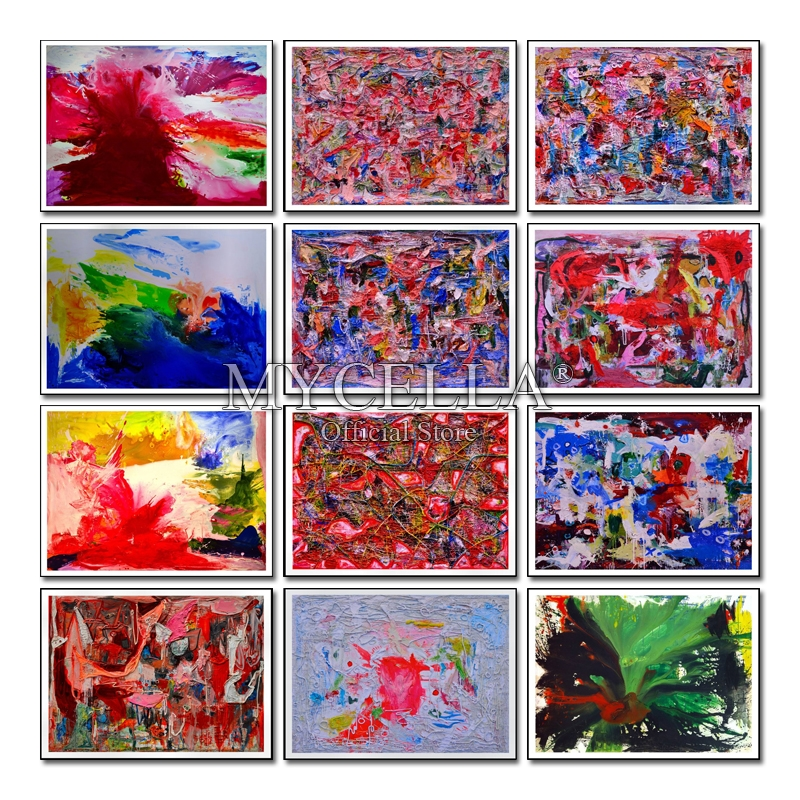 Home Decoration DIY 5D Diamond Embroidery Colorful Wall art Cross Stitch kits Abstract Oil Painting  Craft Mosaic Home Decor