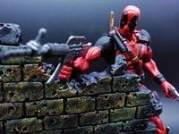 7Anime figure Select Superhero Deadpool X man Action Figure Deadpool Wade Wilson PVC Figure Toy