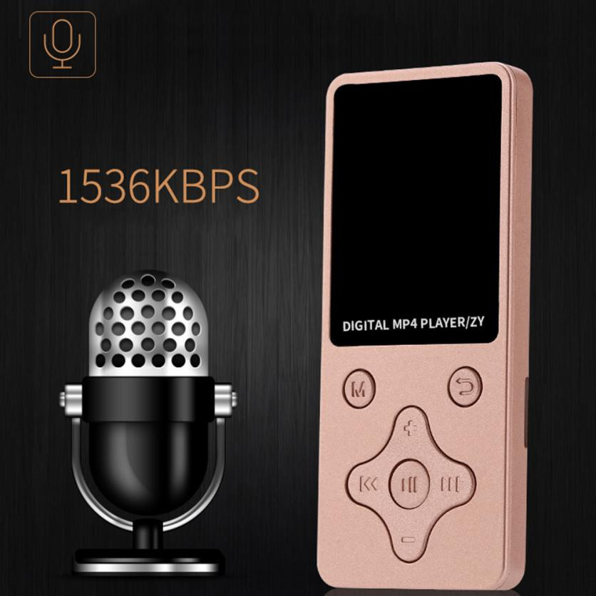 Sound-Music-Player Radio-Recording MP4 Support Lossless Mini Fashion Walkman Video-- title=
