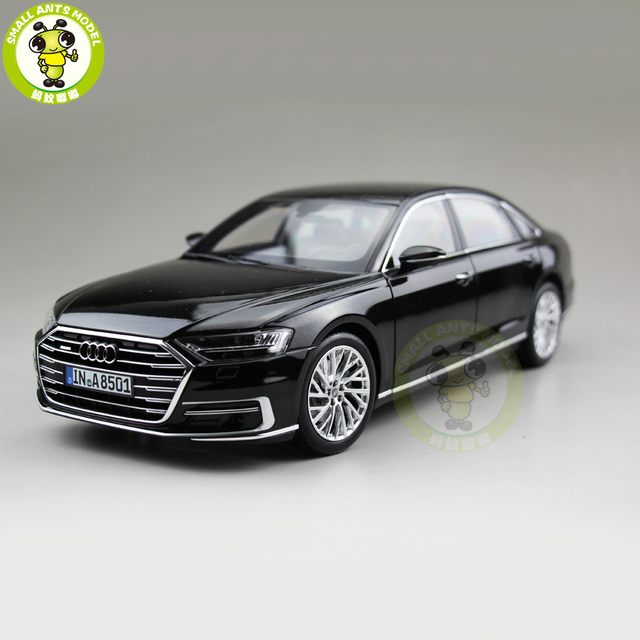 118 Audi A8 L 2018 Diecast Metal Car Model Toys For Kids Gift Hobby